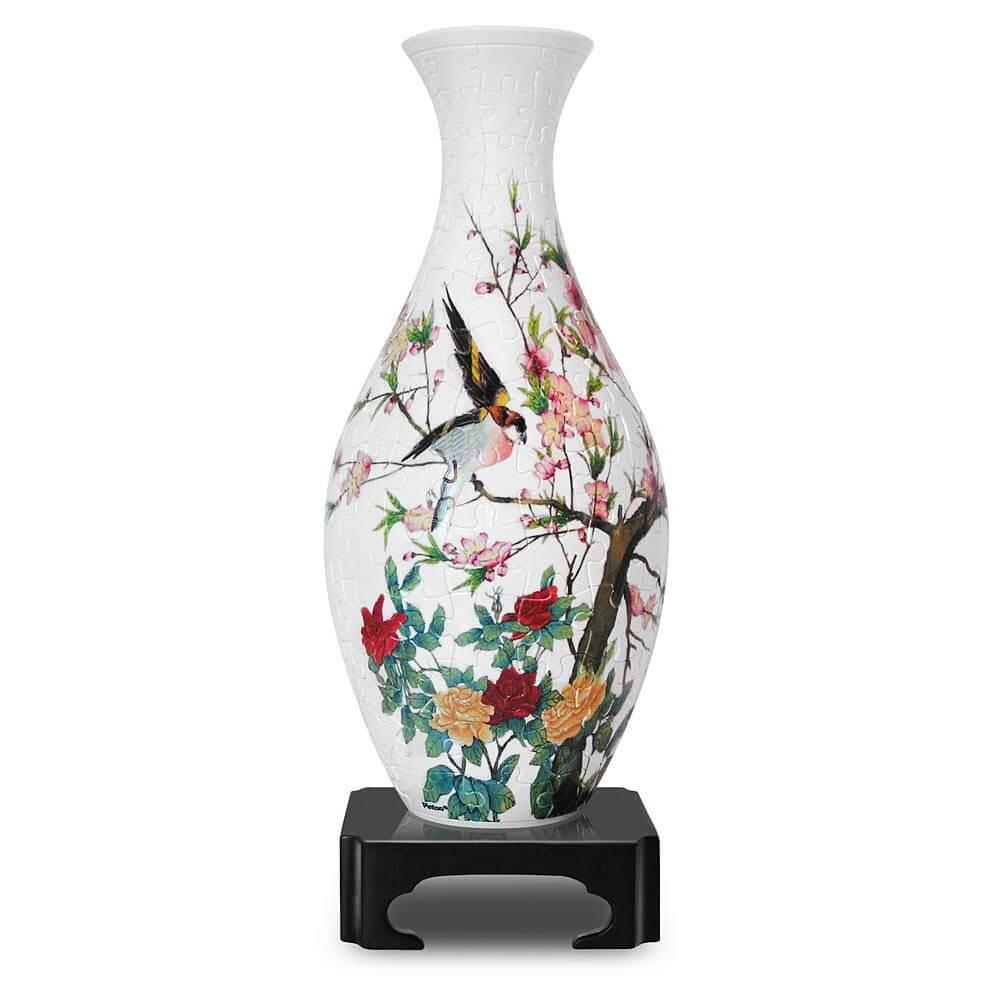 3D пазл ваза