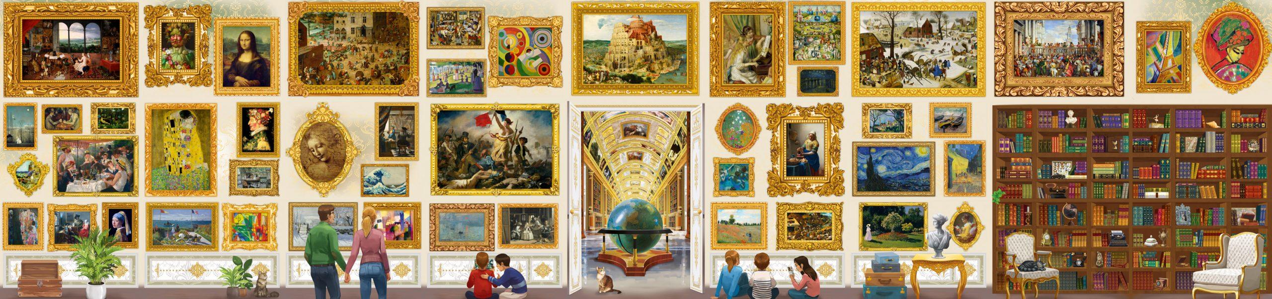 puzzle - travel around art