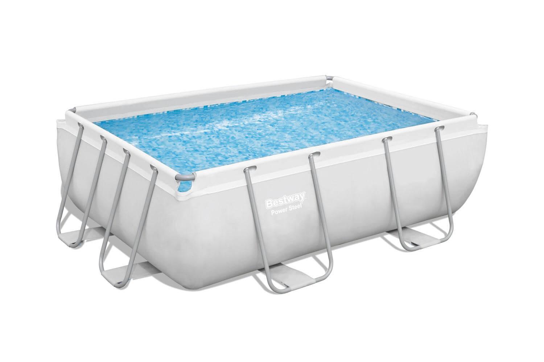 Каркасный стержневой прямоугольный бассейн