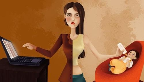 как заработать маме в декрете через интернет