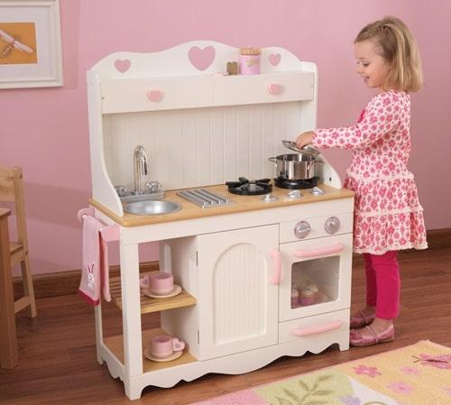 деревянная игрушечная кухня