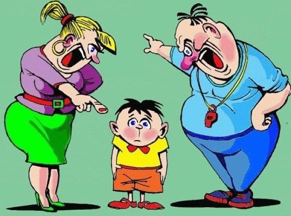 лишить ребенка и наказать
