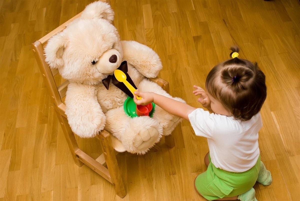 привязанность ребенка к игрушке