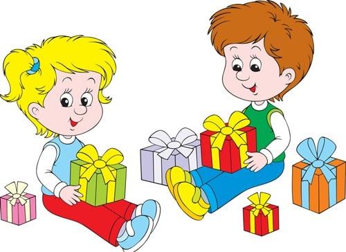 оригинально подарить подарок ребенку