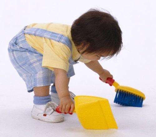 приучение детей к труду