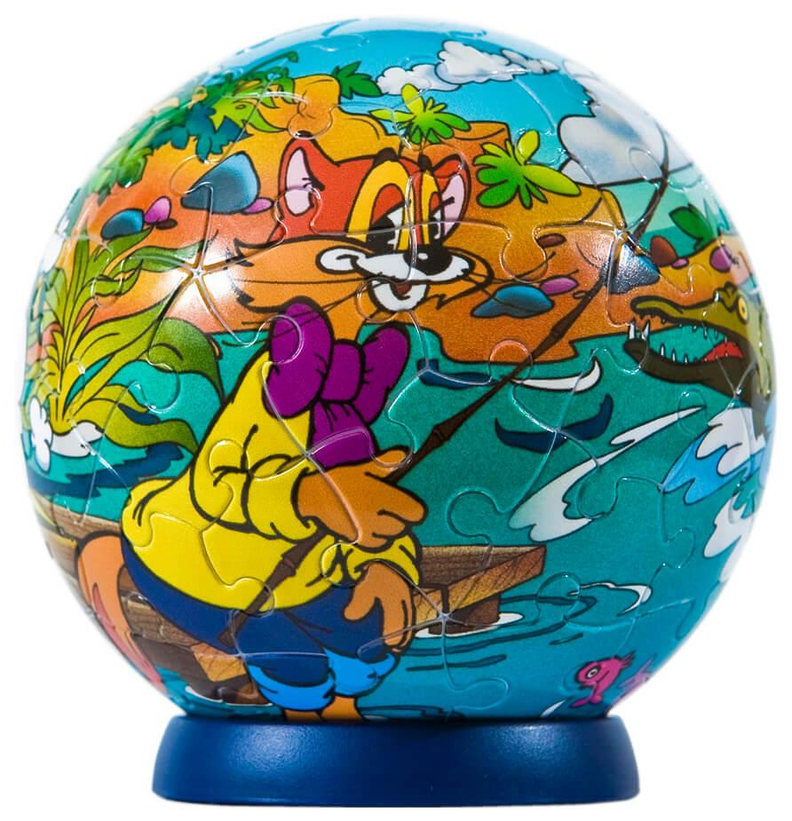 3D пазл-шар