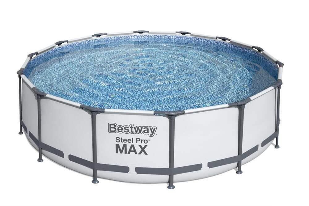 Каркасный стержневой круглый бассейн